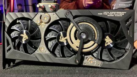 七彩虹在CES 2019上展示了其史诗般的iGame GeForce RTX 2080 TI KUDAN显卡