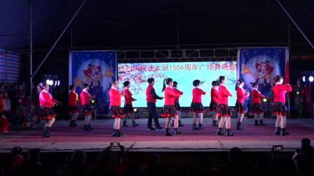 热烈祝贺冼太诞1506周年广场舞晚会--文林舞蹈队(敬爱毛主席万寿无疆)