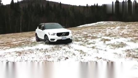 2019款沃尔沃XC40四驱测试,雪地里耍一圈看看实力如何