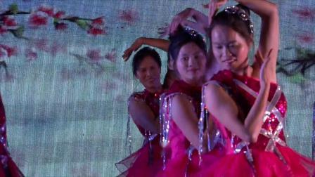 热烈祝贺冼太诞1506周年广场舞晚会--低山沙湾舞蹈队(美丽中国)