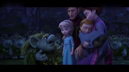 冰雪奇缘:国王陛下寻求精灵的帮助拯救昏迷的安娜