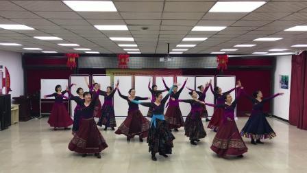 长春冰清玉洁藏族舞蹈《梦见你的那一夜》