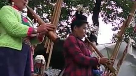 丹寨美女原生态芦笙队