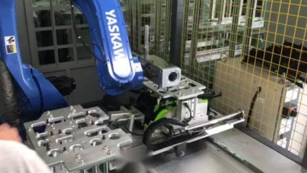 Robot ultrasonic welding machine
