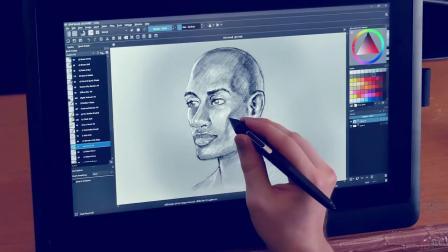 数字艺术家Aaron Rutten评测Wacom Cintiq 16液晶数位屏