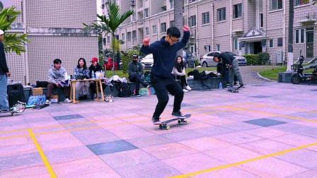 2018-12-31 厦门 闽D-5050 滑板比赛素描