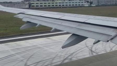 第一次坐飞机,好紧张哦