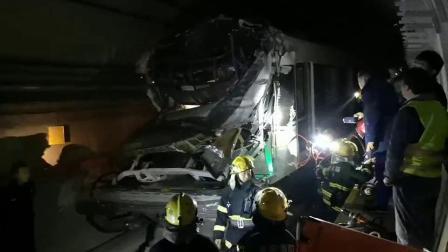 震惊!重庆环线轻轨出轨出事故停运!司机受伤