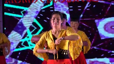 热烈祝贺冼太诞1506周年广场舞晚会--金塘健身操舞蹈队(花幺妺儿)