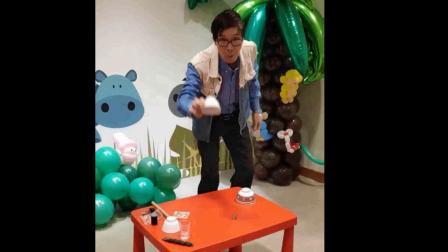 Sandy。。。11月之星開心生日Party魔術表演2018.