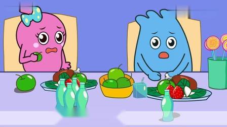 少儿益智动画:多吃蔬菜水果,营养健康身体棒