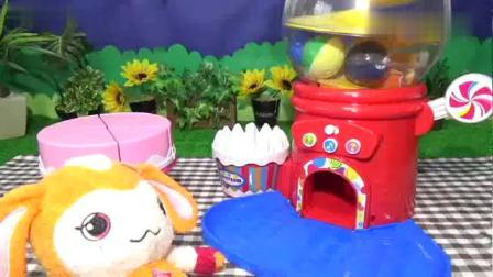 早教小玩具:宝宝做美味草莓冰淇淋