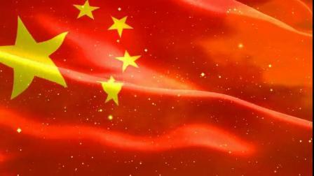 1502479_五星红旗视频素材绚丽粒子光效红旗飘飘