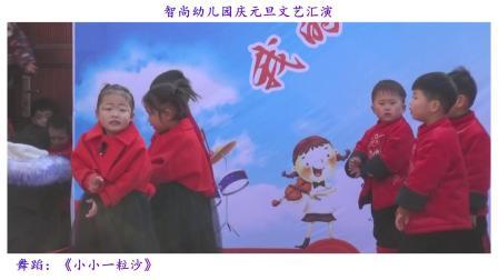智尚幼儿园庆元旦文艺汇演---【小小一粒沙】