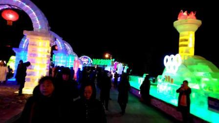 相思的夜《冰灯》芸竹拍摄2019.1.8