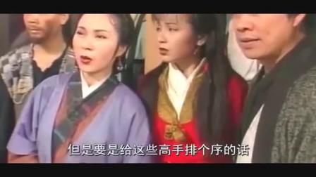 《神雕侠侣》中武功排名前三的高手,杨过屈居第三,第一实至名归