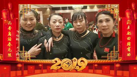 三步踩上海徐泾团队闵行华漕年庆联谊会汇演。小苹果