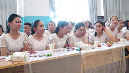 托里县第一中学高三,三班 毕业典礼 2018.6.1