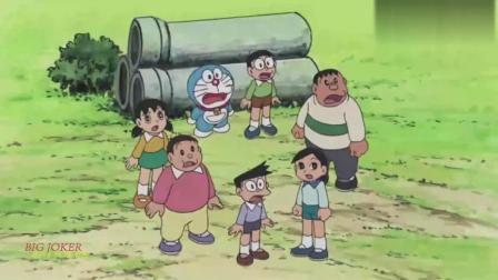 哆啦A梦:大雄和胖虎要用税金鸟建设球场和漫画图书馆