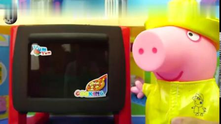 小猪佩奇非常喜欢吃水果蛋糕8557