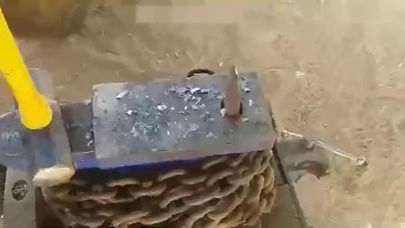 牛人用废弃的钻刀,打造出一把削铁如泥的神器