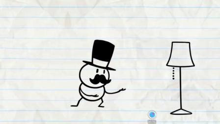 铅笔画小人之铅笔人的搞笑生活游戏