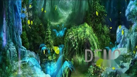690.天空之城 原唱音乐  唯美背景视频 LED大屏幕背景视频高清片源_(new)