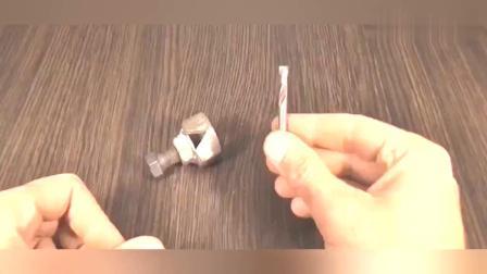 牛人用2颗螺母做成这种工具,原来螺母用途这么