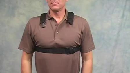 Neotech 记忆棉材质双肩背带介绍