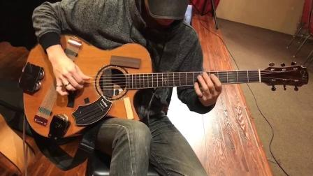 日本著名吉他老师谷本光用美诗特Maestro吉他在马来西亚演出 视频 5