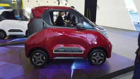 海口国际新能源汽车展实拍最迷你的车宝骏E200