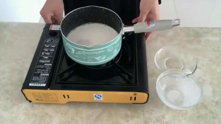 如何制作生日蛋糕 烤箱蒸蛋糕的做法 8寸戚风蛋糕的做法视频