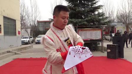 190108文艺小分队渭南赤水演出 (7)渭南市民间文艺