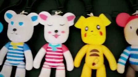 韩国小熊公仔钥匙扣男士创意挂件--厂家跑量网