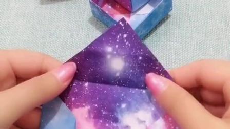 爱心盒子的折法