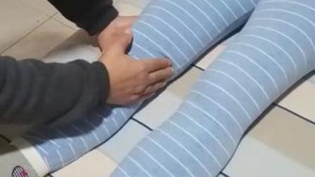 膝关节疼,试试这个方法