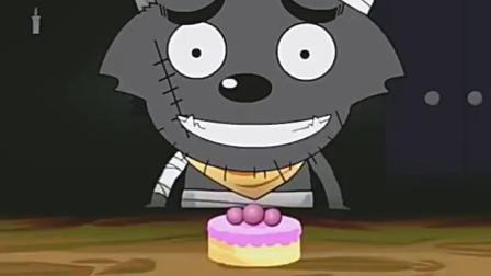 美羊羊过生日!埋在蛋糕里,沸羊羊还让它上了天