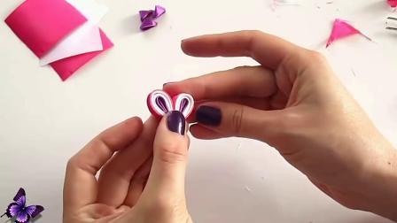 手把手教你用彩带制作漂亮的花朵,简单易学,有机会试试吧!