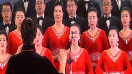 合唱《游击队之歌》—甘旗卡第二高级中学