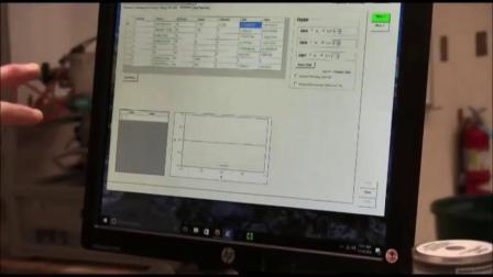 Aerosol Mass Spectrometer Flow Calibration