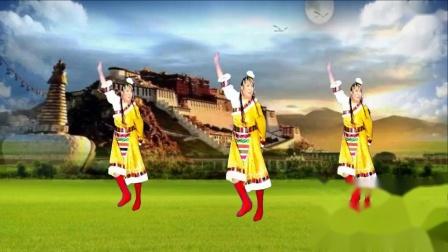 丽丽广场舞《唱家乡》演示和分解动作教学 编舞丽丽