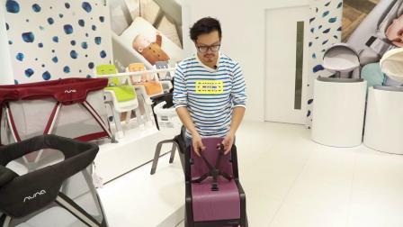 Nuna zaaz儿童餐椅安装视频