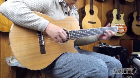 美诗特 crossover 跨界尼龙弦吉他评测试听