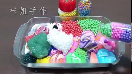无硼砂一次掺20多种材料做泥,有马卡龙、冰淇淋等,玩起来超治愈
