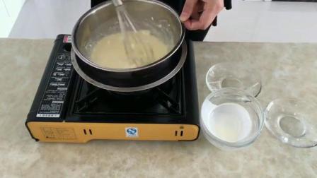 烤箱蒸蛋糕的做法 如何制作生日蛋糕 8寸戚风蛋糕的做法视频