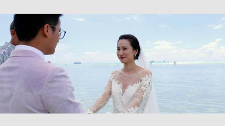 塞班岛唯美婚纱微电影