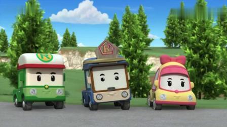 变形警车珀利:三个小布丁看着你,多么真挚的眼神呐