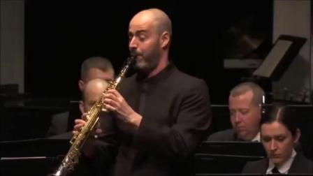 Antonio Felipe plays Felix Mendelsshon Violin concerto tiwh US NAVY BAND