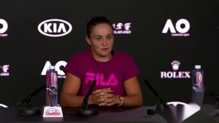 2019澳网次轮赛后发布会:巴蒂
