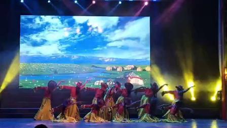 琛韵小天鹅舞蹈学校藏族舞蹈(康定情歌)表演者:陈婷婷、蔡烨紫等。